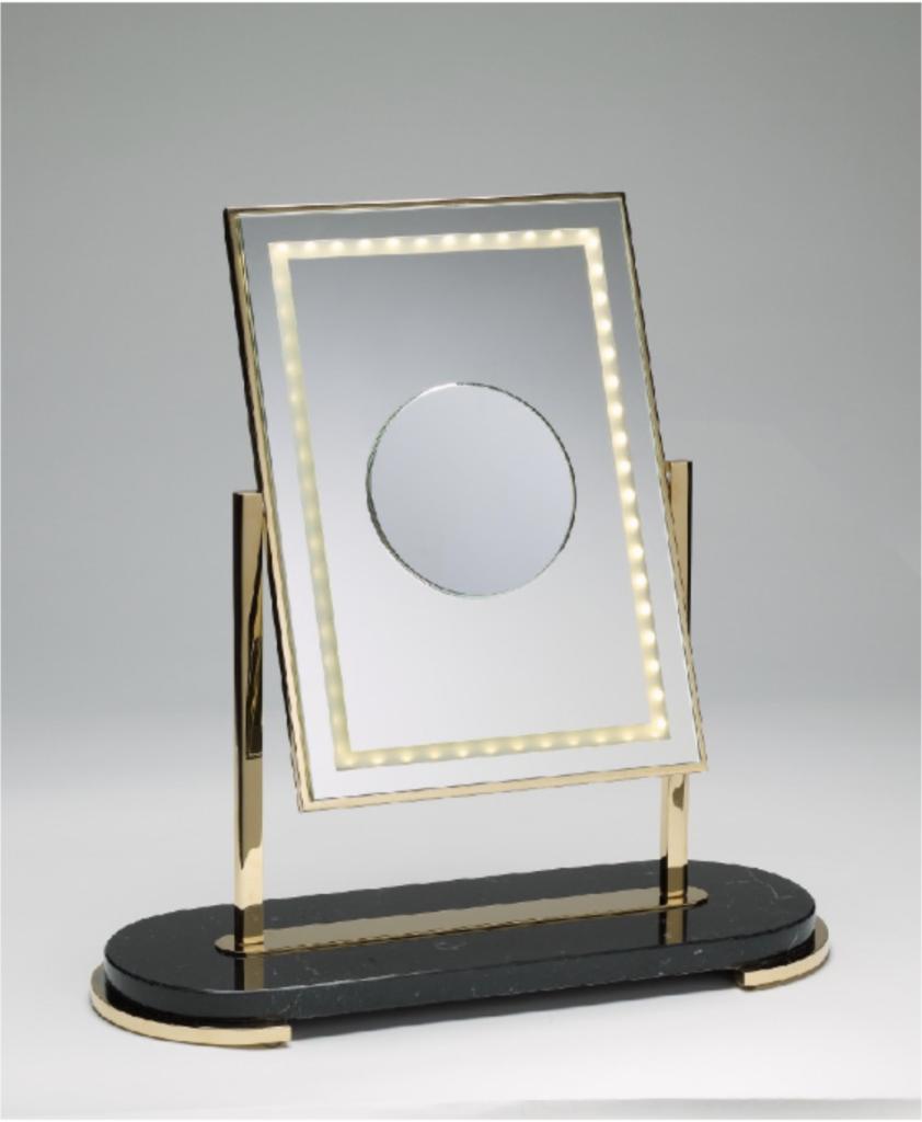 mon beau miroir marble noir de Miroir Brot